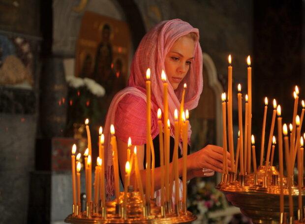 успение богородицы, церковь, храм, молитва, свечи, православие