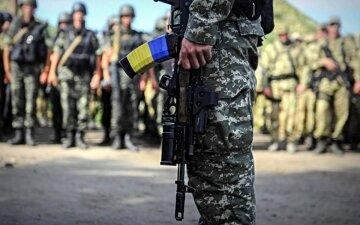 украинские военные ато