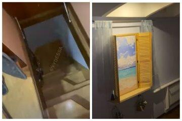 Підвал і намальоване вікно: туристи показали, як їх надурили з житлом в Одесі, відео