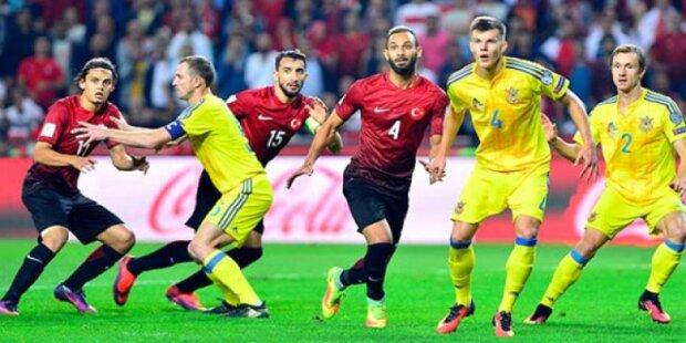 сборная Украины Турции футбол