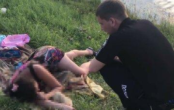 Горе-родители напились до отключки, оставив в воде маленьких детей: кадры ЧП на Черкасчине