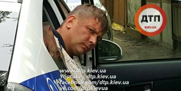 Водитель мажорной иномарки отправил в больницу полицейского (фото)