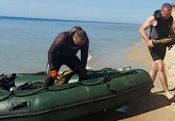 На снаряди натрапили біля курорту на Одещині: лежать прямо на дні моря, фото