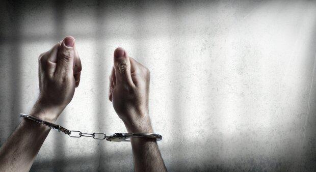 наручники, тюрьма