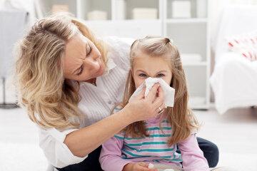 ребенок заболел, грипп, простуда, дети
