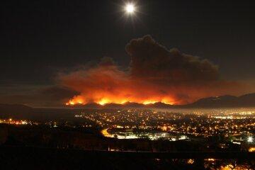 Незвичайний червоний колір сонця здивував жителів Лос-Анджелеса (фото)