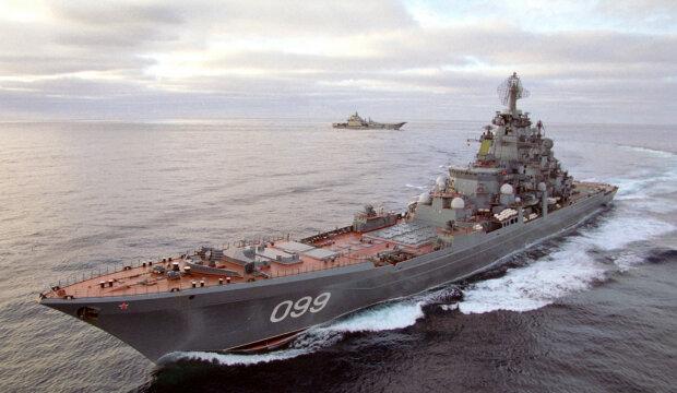 Российский корабль-шпион устроил слежку за американскими военными базами (видео)
