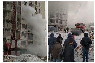 Пожар охватил  высотку в Одессе, на пятом этаже найдено тело: видео несчастья