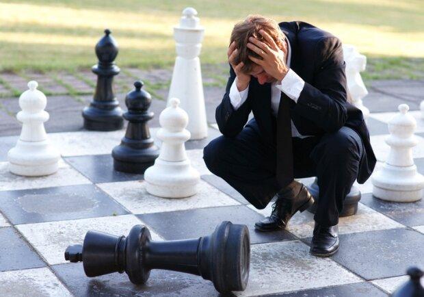 Verzweiflung — Schach matt