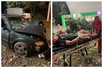 """НП на заправці в Одесі, постраждали люди: """"влетів на швидкості"""""""