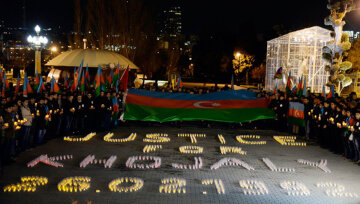 Night march in memory of Khojaly