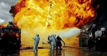 Пожар-нефть