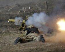 Донбасс-ато-военные, бои