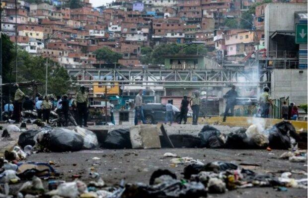Венеуэла протесты