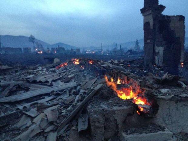пожар Хакасия