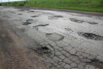 Где находятся худшие дороги Украины