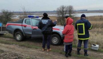 """Несчастный случай произошел на реке в Харькове, фото: """"провалился в ледяную воду и..."""""""