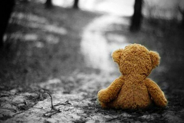 игрушка, мишка, одиночество