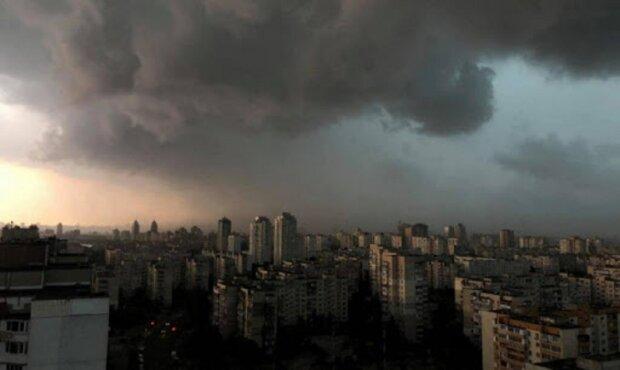 тучи, дождь, облака