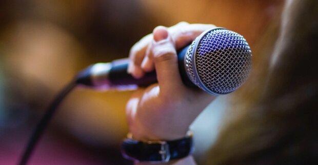 песня, музыка, микрофон