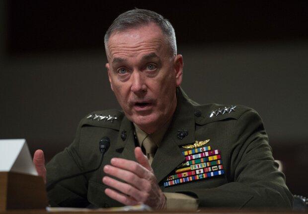 глава Объединенного комитета начальников штабов, генерал корпуса морских пехотинцев Джо Данфорд