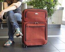 аэропорт, туристы