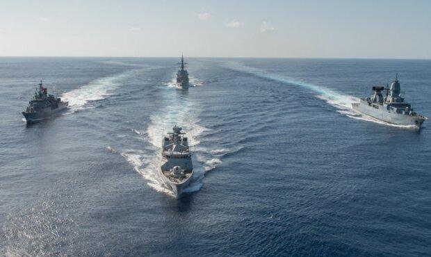 кораблі в Чорному морі, військові кораблі