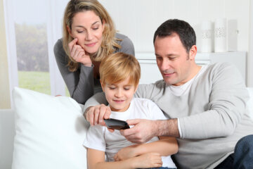 телефон, родители, соцсети