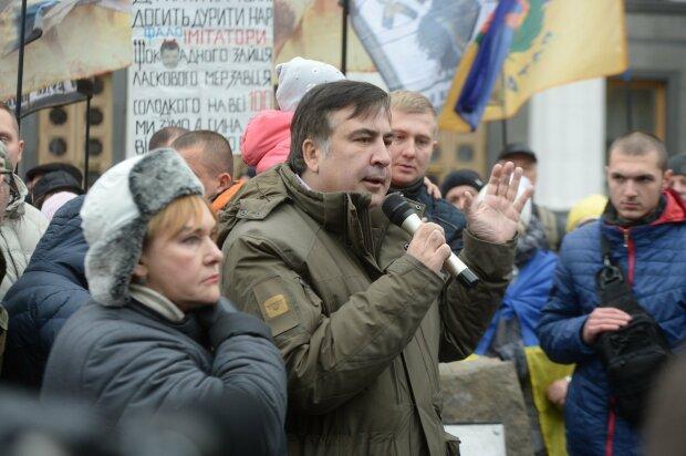 саакашвили, марш за импичмент