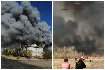 Масштабное ЧП обрушилось на Украину, взрываются боеприпасы: первые фото катастрофы