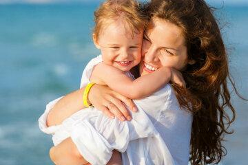 мама, ребенок, счастье