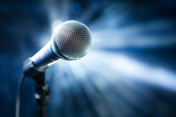 микрофон, певец, певица, музыка,