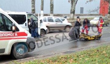 В Одессе сбили пешеходов: кадры с места трагедии
