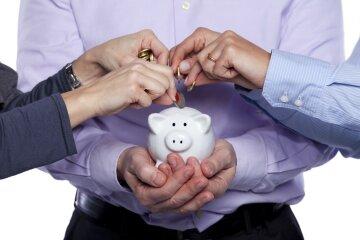 копилка, пенсия, сбережения