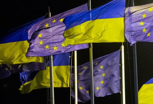 ес евросоюз флаг Украина
