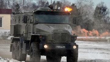 российские военные, грузовик,