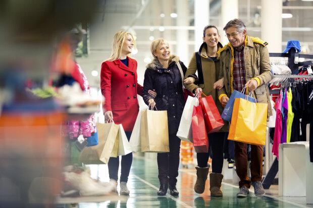 счастливые люди, шопинг
