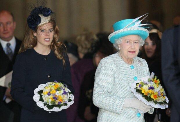 беатрис йоркская, королева елизавета