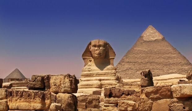египет, пирамида, сфинкс