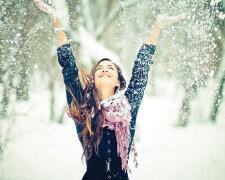 зима, радость, счастье