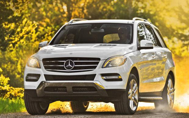 мажор на Mercedes