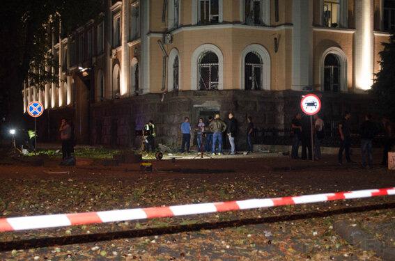 Взрыв у СБУ в Одессе