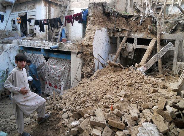 землетрясение афганистан пакистан