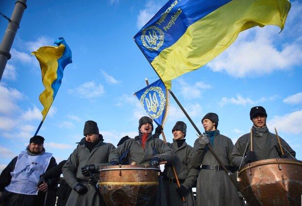 День соборности Украины живая цепь