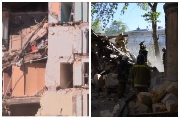 Кот спас хозяйку ценою жизни: появились подробности обрушения дома в Одессе, видео