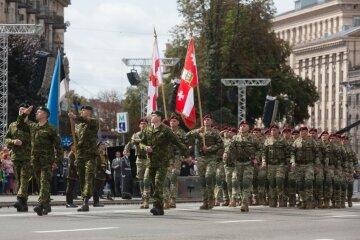 парад, день независимости