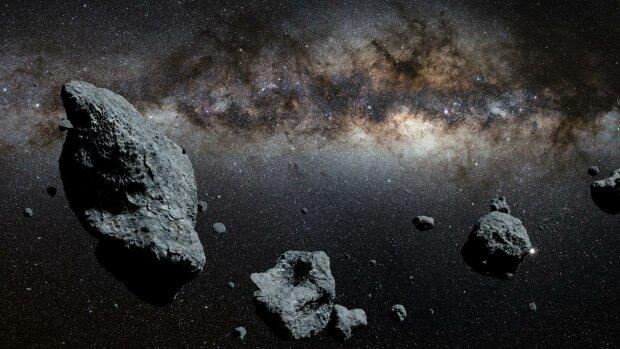 астероид, космос, метеорит