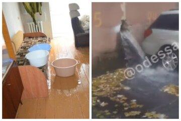 """В Одессе квартиры и улицы заливает кипятком, видео ЧП: """"можно принимать ванны"""""""