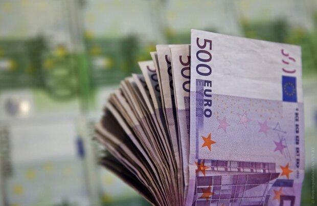 курс валют в украине, евро деньги