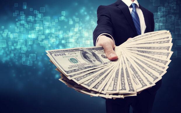 курс валют в украине, деньги, доллары,